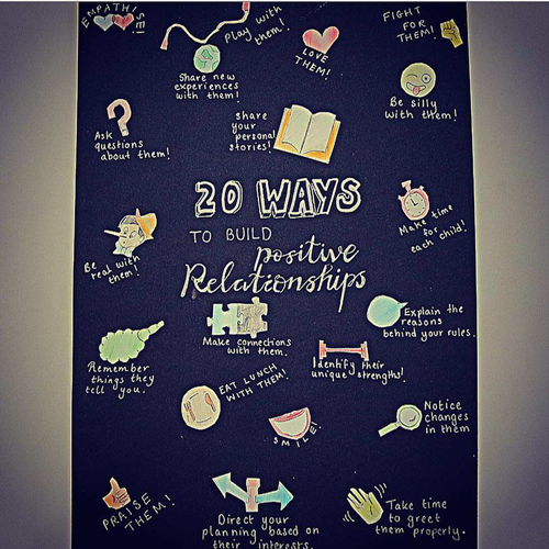 20 ways to build positive relationships with your children