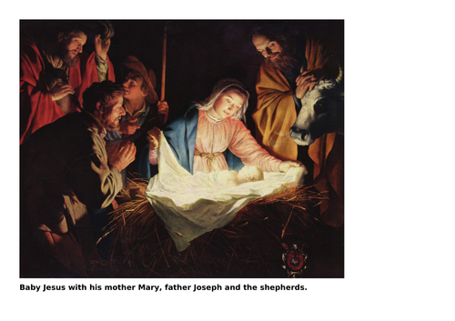 RE KS1 Baby Jesus (Whole lesson)