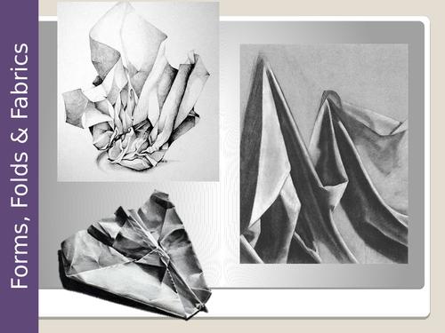 Drawing Folds, Forms & Fabrics