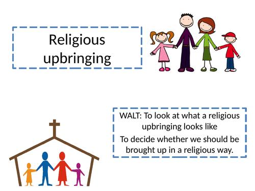 Religious upbringing