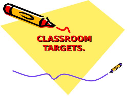 classroom targets