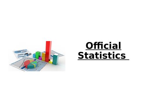 Official Statistics- Sociology
