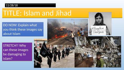 Edexcel Religious Studies Spec B - Islam // Greater and Lesser Jihad