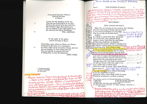 The Duchess of Malfi Annotated Play Complete