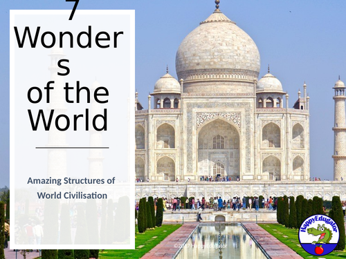 7 New Wonders of the World PowerPoint UK Version