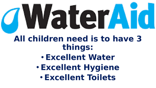 Water Aid PowerPoint