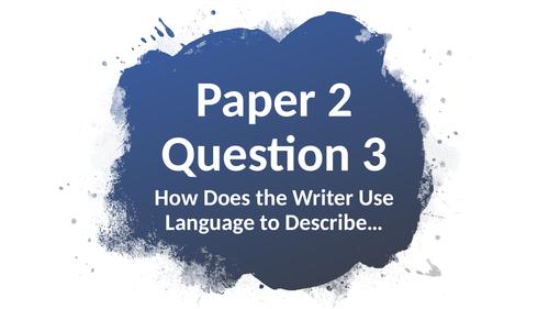Question 3 Paper 2
