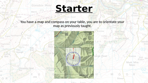 Map and Compass Work