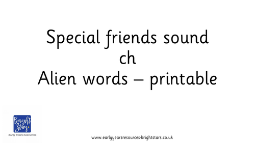 Special Friends sound ch pack