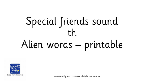Special friends sound th pack