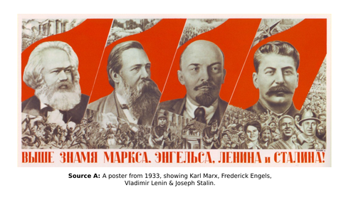 Post 16- fully resourced- Stalin's cult of personality and foreign policy