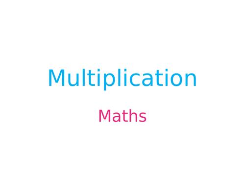 Arrays, part whole, multiplication year 2 Maths SATs prep ks1