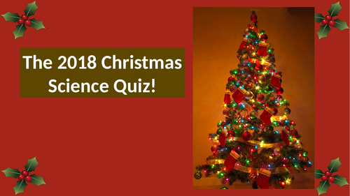 2018 Science Discoveries Quiz