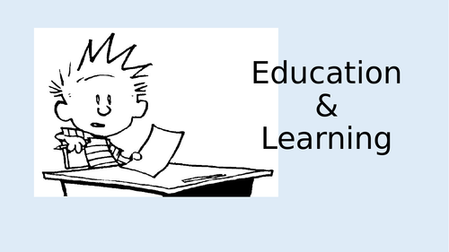 EDUCATION vocabulary and speaking exercises CEFR level B1