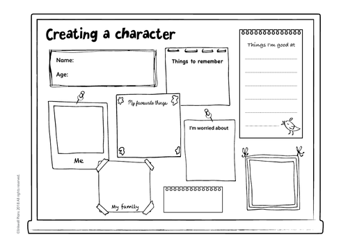 Creating a Character Templates