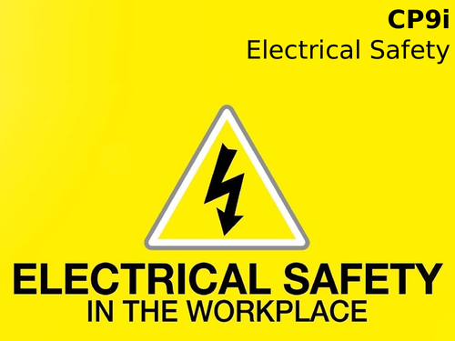 Edexcel CP9i Electrical Safety