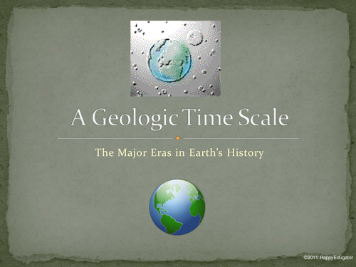 A Geologic Time Scale PowerPoint UK Version