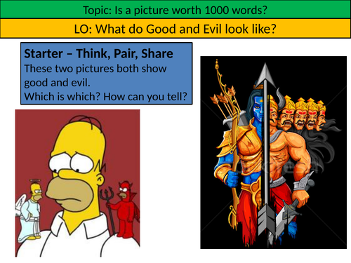 The Ramayana - Symbolism Lesson Ethics/RE