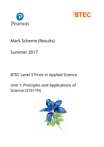 Applied Science Unit 1 Chemistry Revision