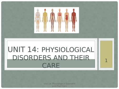 Unit 14 Physiological Disorders LOA