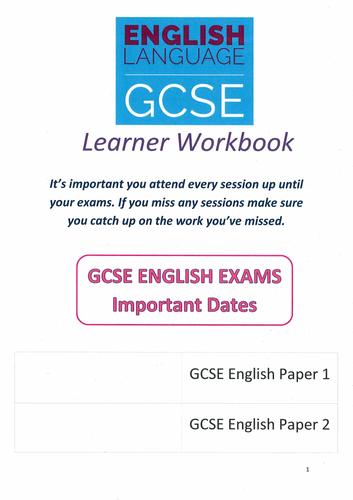 GCSE English Language Workbook
