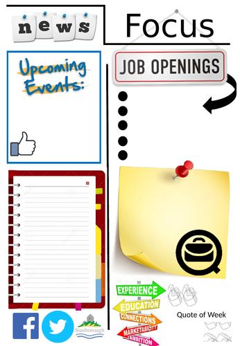 Career Newsletter template