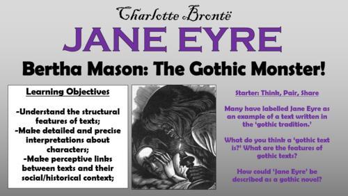 jane eyre as a gothic novel