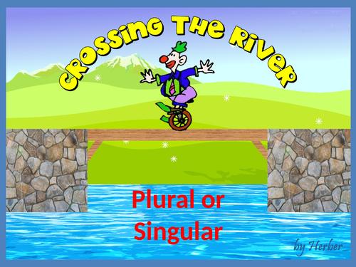 Singular or Plural nouns. Game.