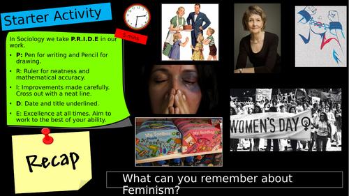 GCSE Eduqas C2: Feminism and social inequality