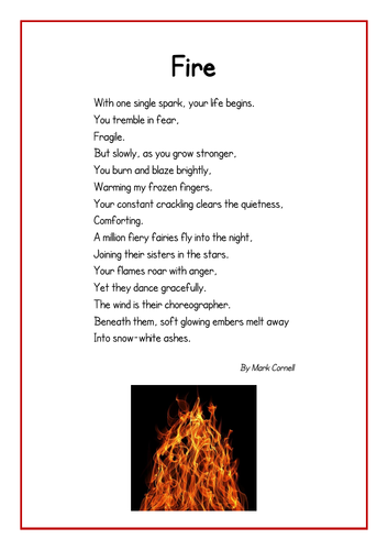 Fire Poem