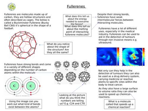 Fullerenes, Graphine and nanotubes