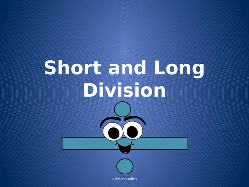 Short and Long Division: Bus Stop Method