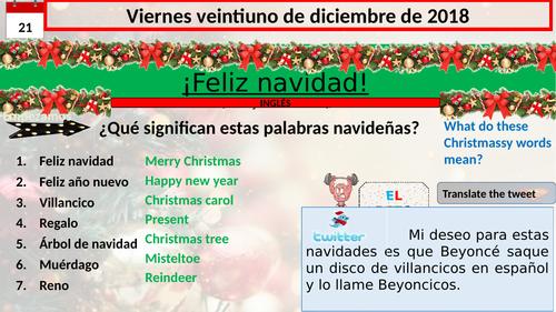 Navidad -Christmas in Spain