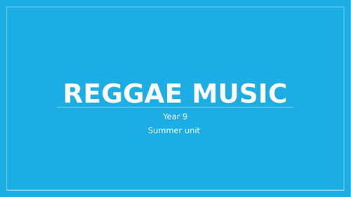Reggae Music Unit