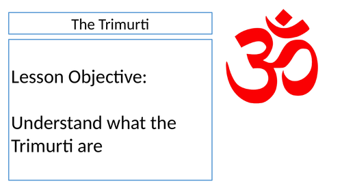 The Trimurti in Hinduism