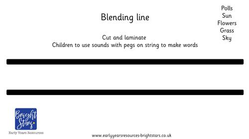 Blending Line