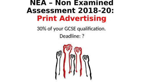 AQA GCSE Media NEA 2019 Brief 3 SOW