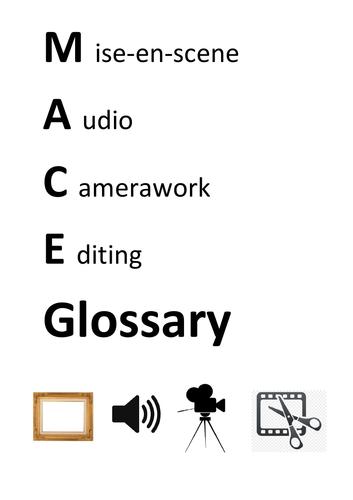 Media MACE Glossary
