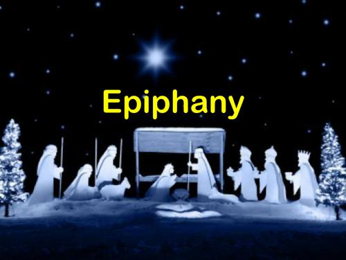 Epiphany Powerpoint