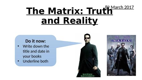 The Matrix: Truth vs Reality