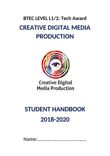 Btec L1/2 Tech Award Media Handbook