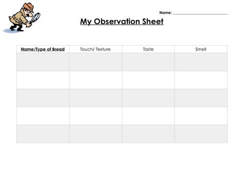 Scrumdiddlyumptious Activity Sheets