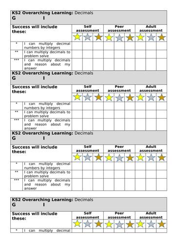 White rose maths spring block 1 decimals lesson 4