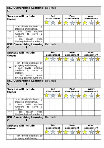 White Rose spring block 1 decimals lesson 5