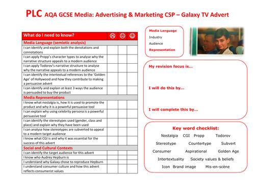 AQA GCSE Media Galaxy CSP PLC