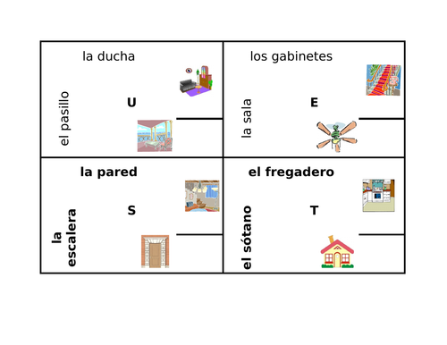Casa (House in Spanish) 4 by 4