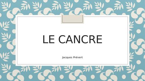 Le cancre - Jacques Prévert
