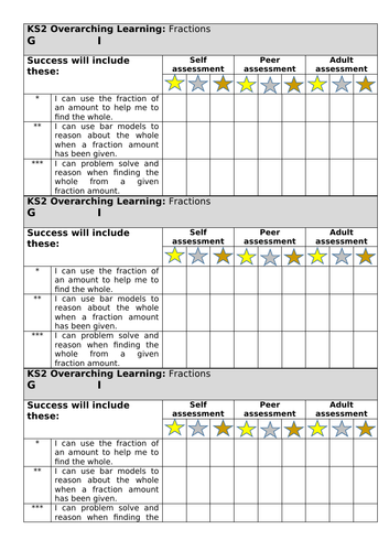 White Rose year 6 fractions lesson 8