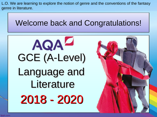 AQA A Level Language and Literature - The Lovely Bones (AO1, AO2 and AO3)