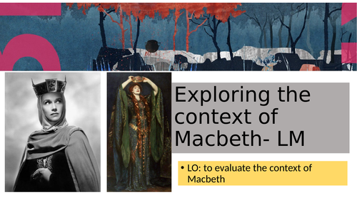 Evaluating the character of Lady Macbeth